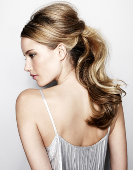 hair magazine low pony chic quick hair glossy pretty